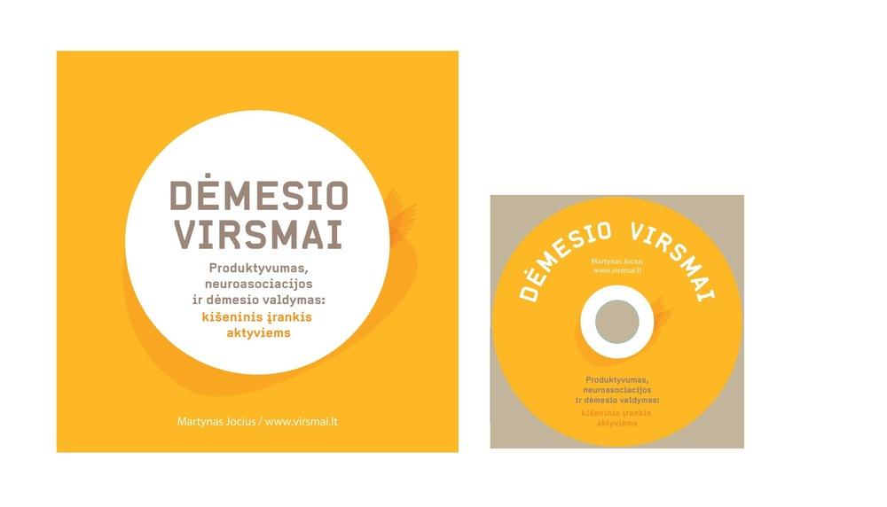 Vaidone Dabriškaite - Martynas Jocius | knygos viršelio dizainas + cd