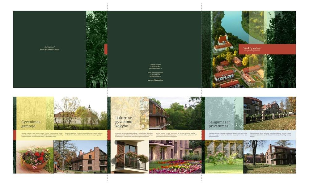 Vaidone Dabriškaite - AB Hanner | Verkių slėnis - trijų dalių brošiūra