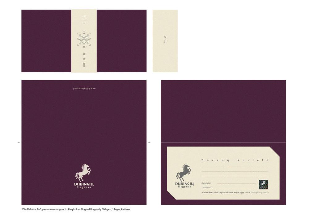 Vaidone Dabriškaite - Dubingių žirgynas | dovanų kortelė + dėklas