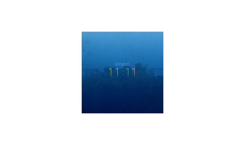 Vaidone Dabriškaite - Martynas Jocius | 11:11 CD viršelio dizainas