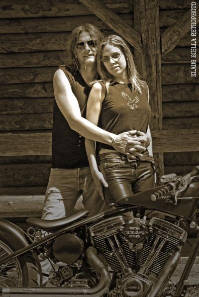 Klaus Biella Retrophoto - Matthias & Andrea