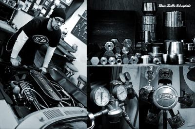 Klaus Biella Retrophoto - Phil´s Speed Shop