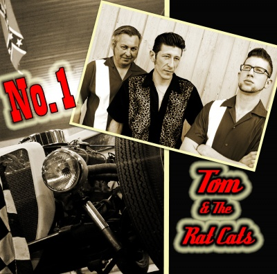 Klaus Biella Retrophoto - Tom & The Rat Cats CD Cover (Photos & Cover Art)