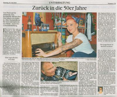 Klaus Biella Retrophoto - Publication in Passauer Neue Presse