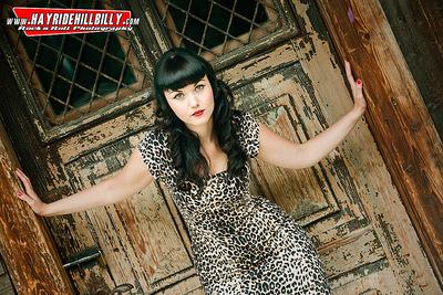 Klaus Biella Retrophoto - Shooting for the Pullman City Rockabilly Calendar 2015