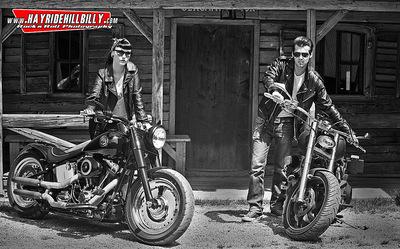 Klaus Biella Retrophoto - Shooting for the Pullman City Rockabilly Calendar 2015 Models: Dixie Doll & Nik