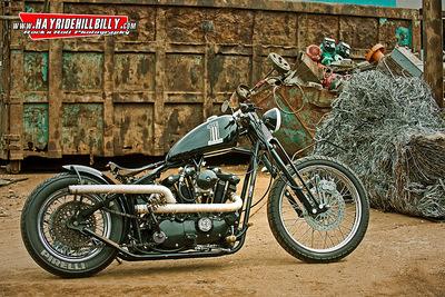 Klaus Biella Retrophoto - Custombike Shoot for a client