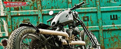 Klaus Biella Retrophoto - Custombike Shoot