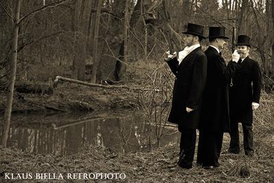 Klaus Biella Retrophoto - The Duelists