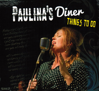 Klaus Biella Retrophoto - CD Cover Photo Paulina´s Diner (Finland) 2017