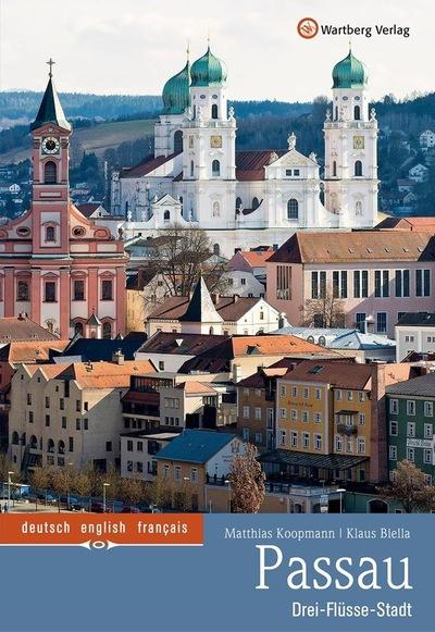 Klaus Biella Retrophoto - Cover des Bildbandes Passau mit 85 Fotos von mir, erscheint im Okt. 2017