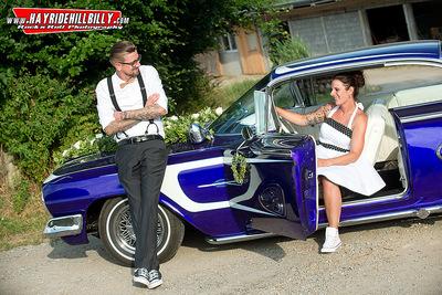 Klaus Biella Retrophoto - Rock´n´Roll Wedding: Yvonne & Boris, 2017