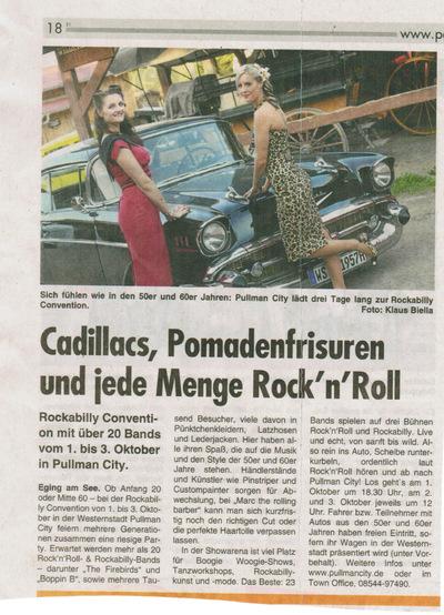 Klaus Biella Retrophoto - Veröffentlichung eines Bildes in der Passauer Woche, 30.09.2015