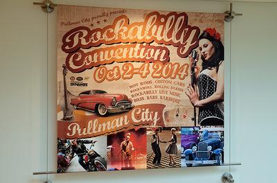Klaus Biella Retrophoto - Verwendung mehrerer Bilder für Werbeplakate für Pullman City