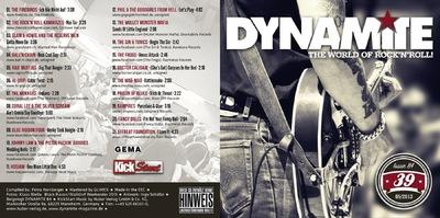 Klaus Biella Retrophoto - CD Cover für die Compilation des Dynamite Magazins