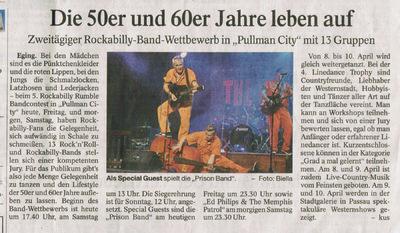 Klaus Biella Retrophoto - Veröffentlichung eines Bildes in der Passauer Neuen Presse, 01.04.2016