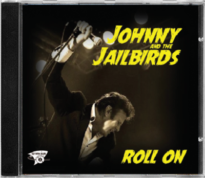 Klaus Biella Retrophoto - CD Cover für Johnny & The Jailbirds (England), Platz 2 der brit. R´n´R Charts