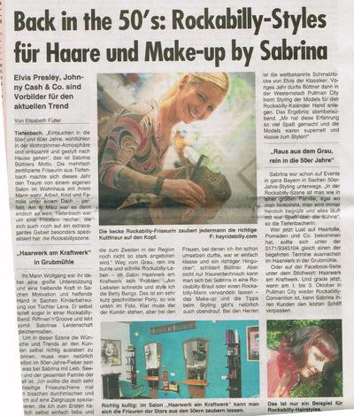 Klaus Biella Retrophoto - Veröffentlichung mehrerer Bilder in der Passauer Woche, 23.09.2015