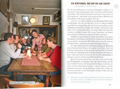 Klaus Biella Retrophoto - Veröffentlichung eines Bildes in Typen und Touren im Bayerischen Wald von Simone Kuhnt, 2015