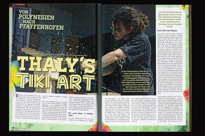 Klaus Biella Retrophoto - Veröffentlichung mehrerer Bilder im Dynamite Magazine 2014/2