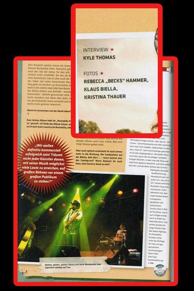 Klaus Biella Retrophoto - Veröffentlichung mehrerer Bilder im Dynamite Magazine 2013/1