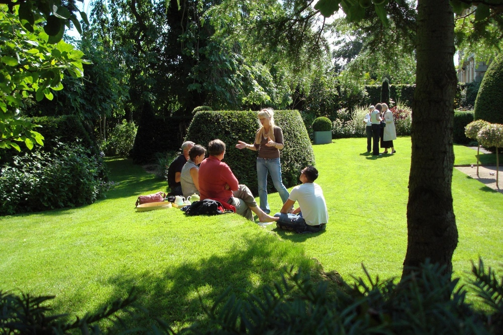 We Opened The Garden Regularly For The National Gardens Scheme And For  Groups Interested In The Art Of Garden Design