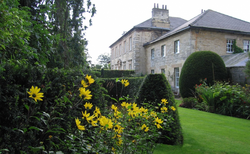 plants by design - Thorp Arch Hall was designed by John Carr in 1750. The East Wing was our home for 14 years during which time we developed the gardens