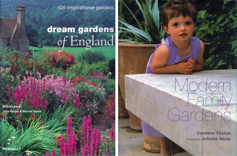 plants by design - East Wing garden is featured extensively in both of these publications