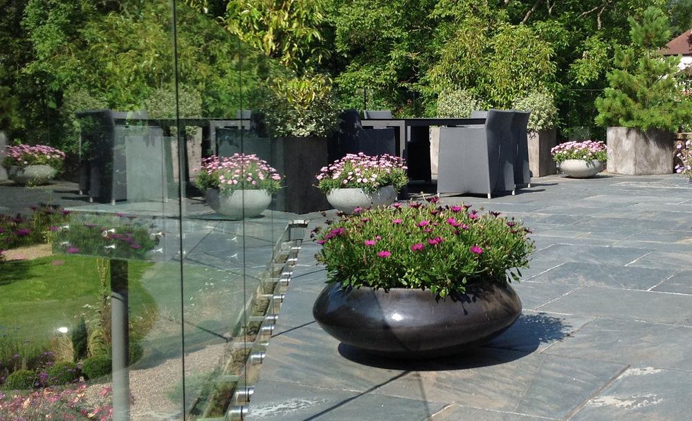 plants by design - upper terrace garden