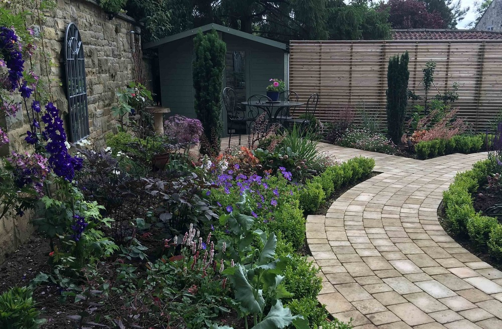 plants by design - Thorp Arch garden designed and implemented 2016