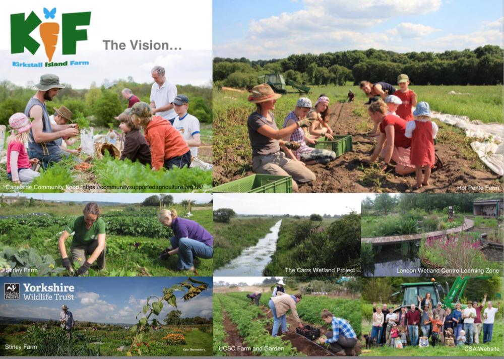 plants by design - Kirkstall Island Farm: Case study possibilities