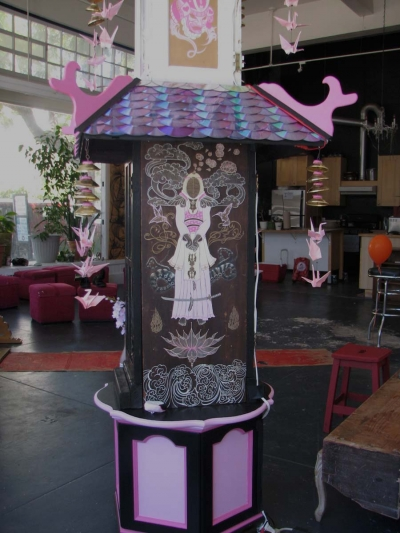 Simone Star Weit - Pink Pagoda detail (2010)