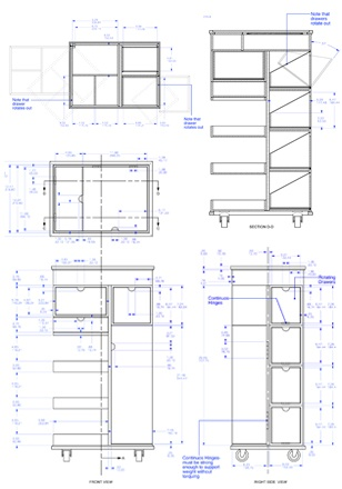 arh creative - CAD The final step in our design process is to provide CAD drawings. Depending on the product, these drawings can be 2D technical specs or 3D renderings.