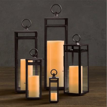 arh creative - Santorini Square Lanterns Client: Restoration Hardware Photo: Courtesy of Restoration Hardware