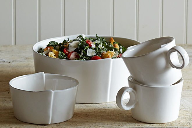 arh creative - Fraiche Dinnerware Client: Williams Sonoma Photo: Courtesy of Williams Sonoma