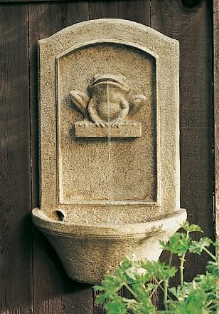arh creative - Frog Wall Fountain Client: Restoration Hardware Photo: Courtesy of Restoration Hardware