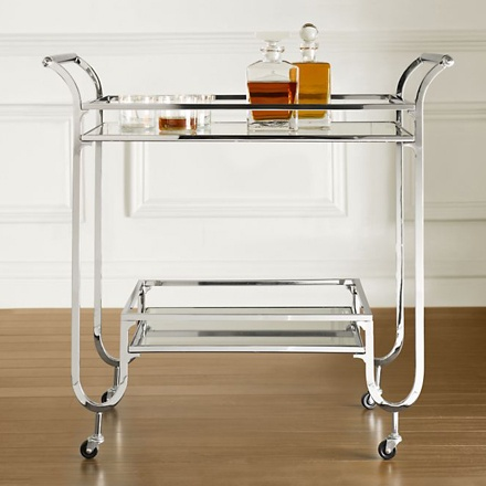 arh creative - Duncan Bar Cart Client: Restoration Hardware Photo: Courtesy of Restoration Hardware