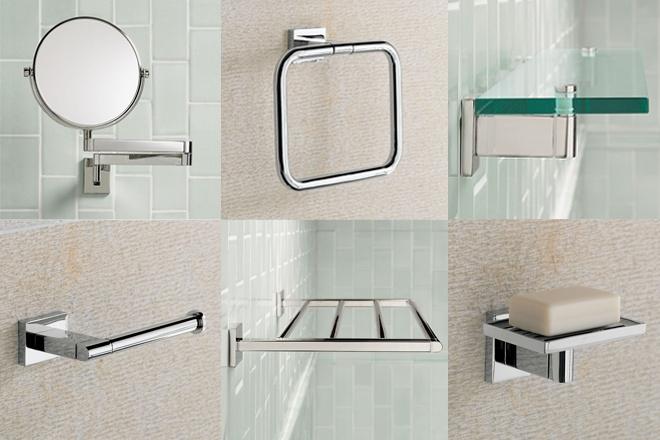 arh creative - Modern Bath Hardware Client: Restoration Hardware Photo: Courtesy of Restoration Hardware