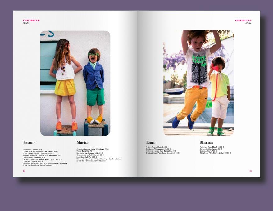 Dipika Parmar - Kids fashion stylist -      BUBBLE MAGAZINE S/S 2013