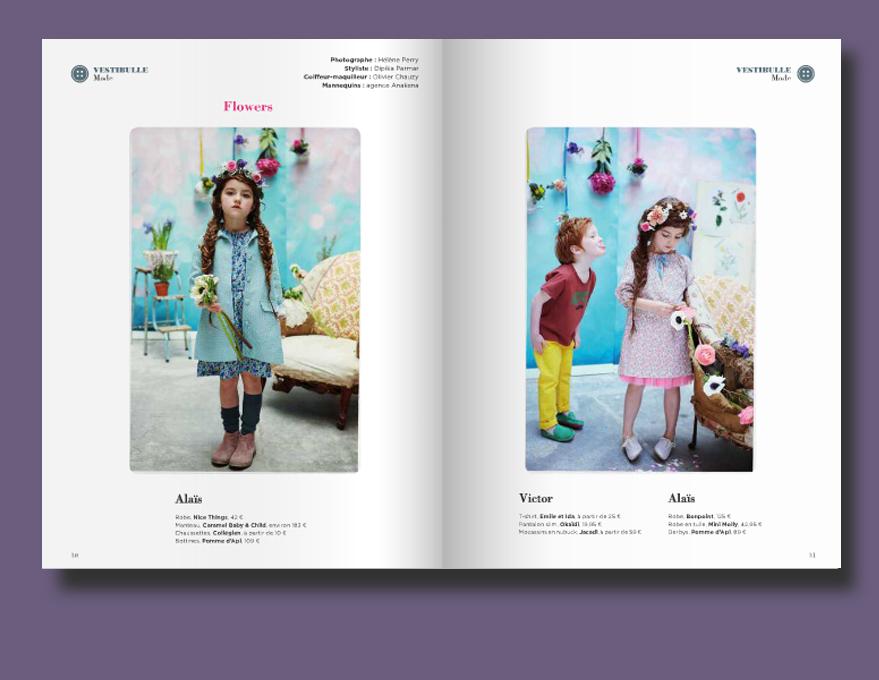 Dipika Parmar - Kids fashion stylist - BUBBLE MAGAZINE SPRING 2014