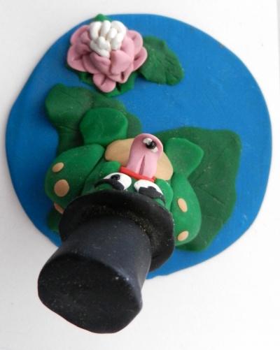 Artist Pen - Sad Frog