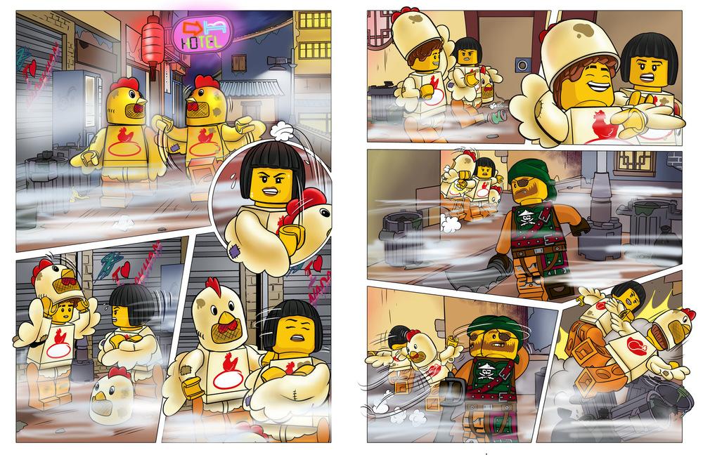 Raquel Barros - Lego® Ninjago, Masters of Spinjitsu (III)