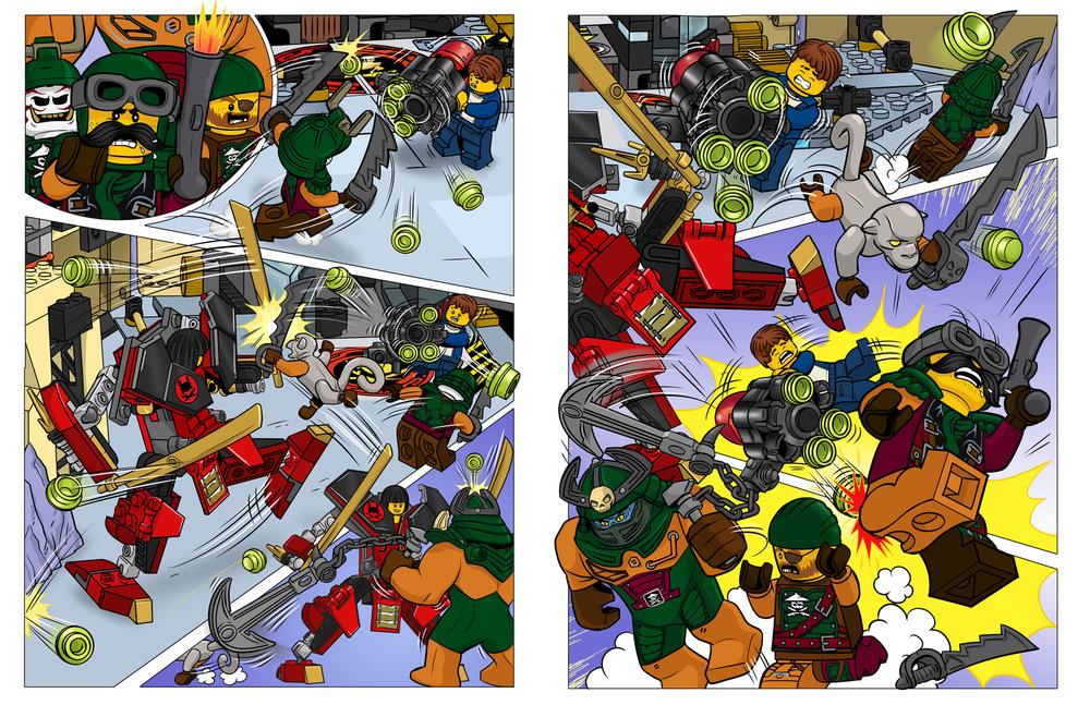 Raquel Barros - Lego® Ninjago, Masters of Spinjitsu (IV)