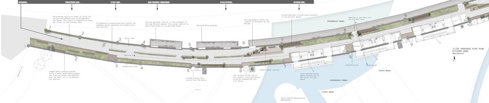 Marianne Khan Design - Detail plan drawing