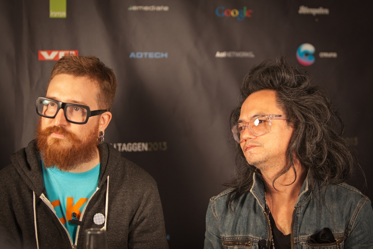 NaustvikPhotography.com - Harper Reed (OBAMA 2012) and David Shing (AOL)