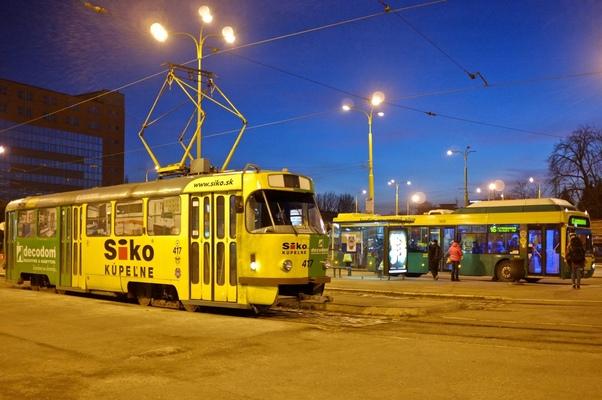 Kai Michael Neuhold - Fotojournalist - Straßenbahn in Kosice (Slowakei)