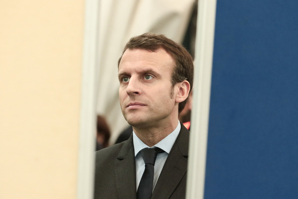 Kai Michael Neuhold - Fotojournalist - Frankreichs Präsident Emmanuel Macron zu Besuch in Berlin
