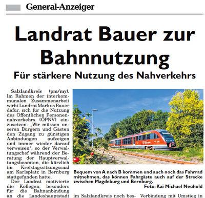 Kai Michael Neuhold - Fotojournalist - General Anzeiger Salzlandkreis