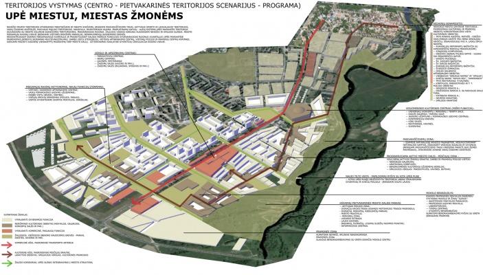 Architektas Linas Mackevičius - VGTU baigiamasis darbas: Kėdainių miesto pietvakarinės teritorijos regeneracija