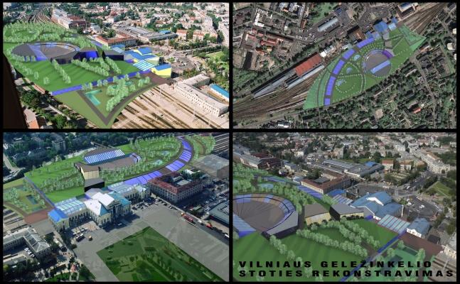Architektas Linas Mackevičius - VGTU magistrntūros kursinis darbas: Vilniaus geležinkelio stoties rekonstravimas